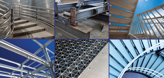 Ornamental Metals, Light Structural, Architectural Metals, Heavy Plate Fabrication